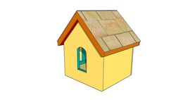 Simple dog house plans free woodenplansfree